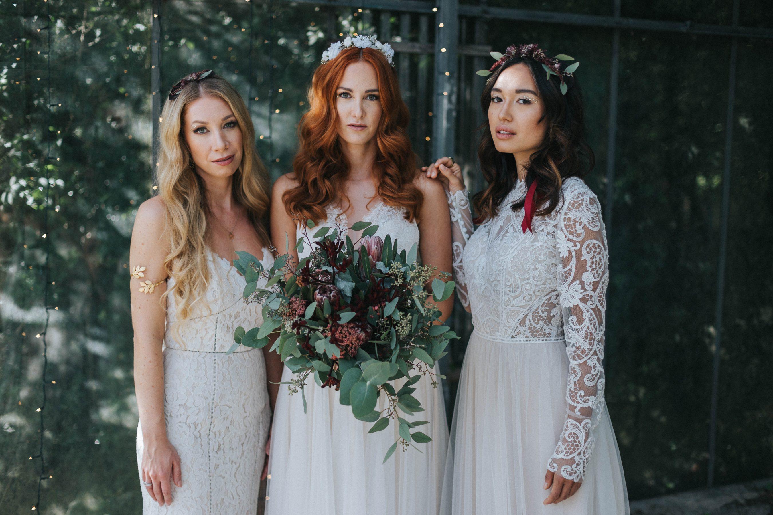 Brautfrisuren 2018 Fur Mittellange Und Lange Haare Mit Glitter
