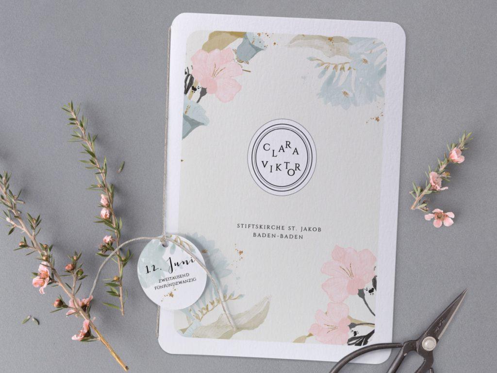 Stilvolle Hochzeitskarten von Cotton Bird
