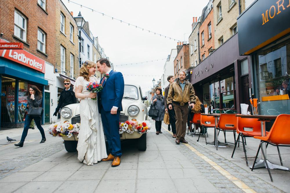 Hochzeit London Karma Cab indisches Taxi