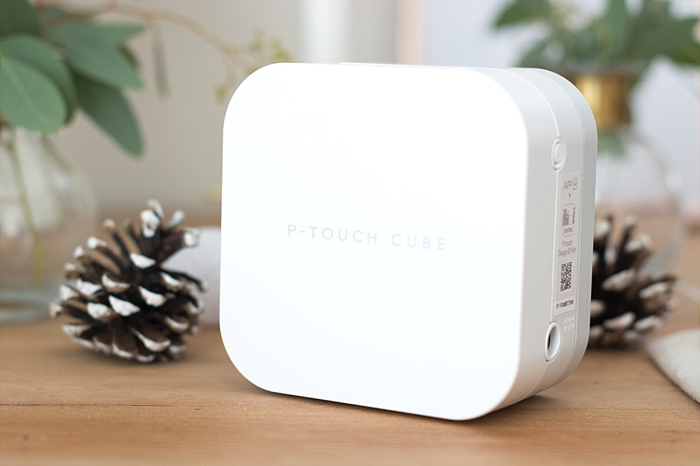 Brother P-touch Cube mobiles BEschriftungsgerät für DIY Etiketten und DIY Bänder selbst bedrucken
