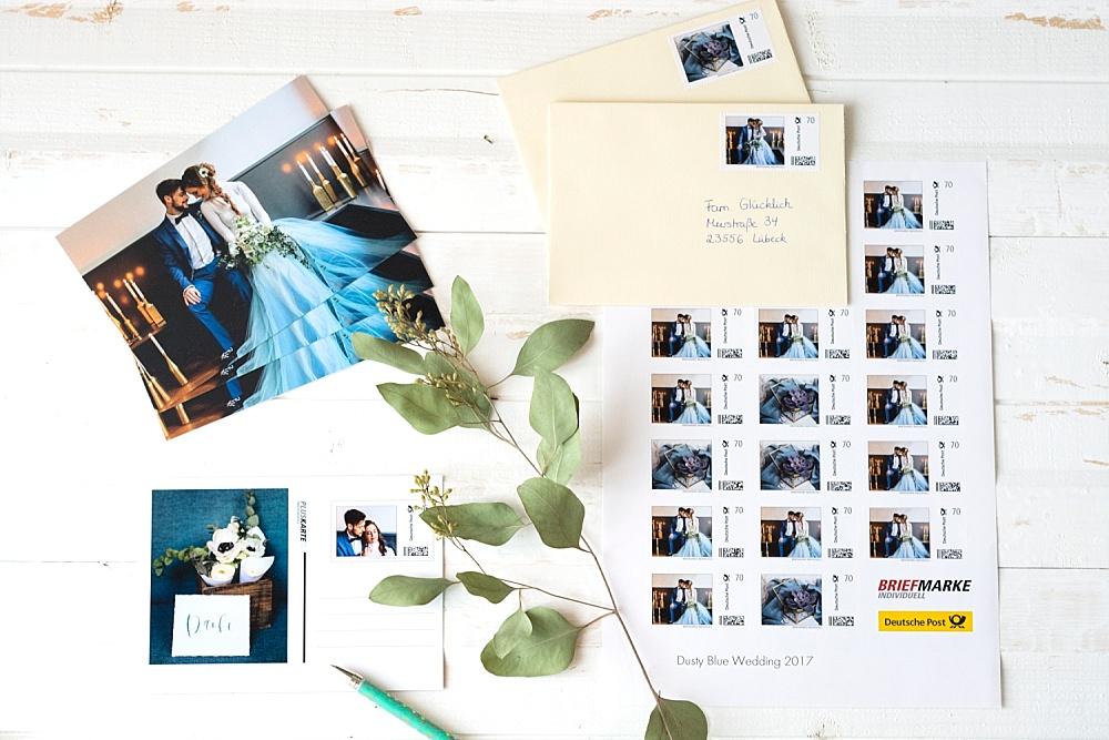 Briefmarke Individuell von Deutsche Post für eure Hochzeitskarten