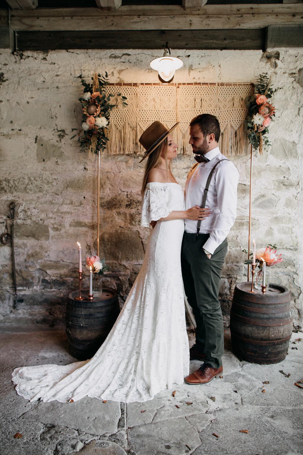 Rustikale Inspirationen für die Boho Hochzeit | Hochzeitsblog The ...
