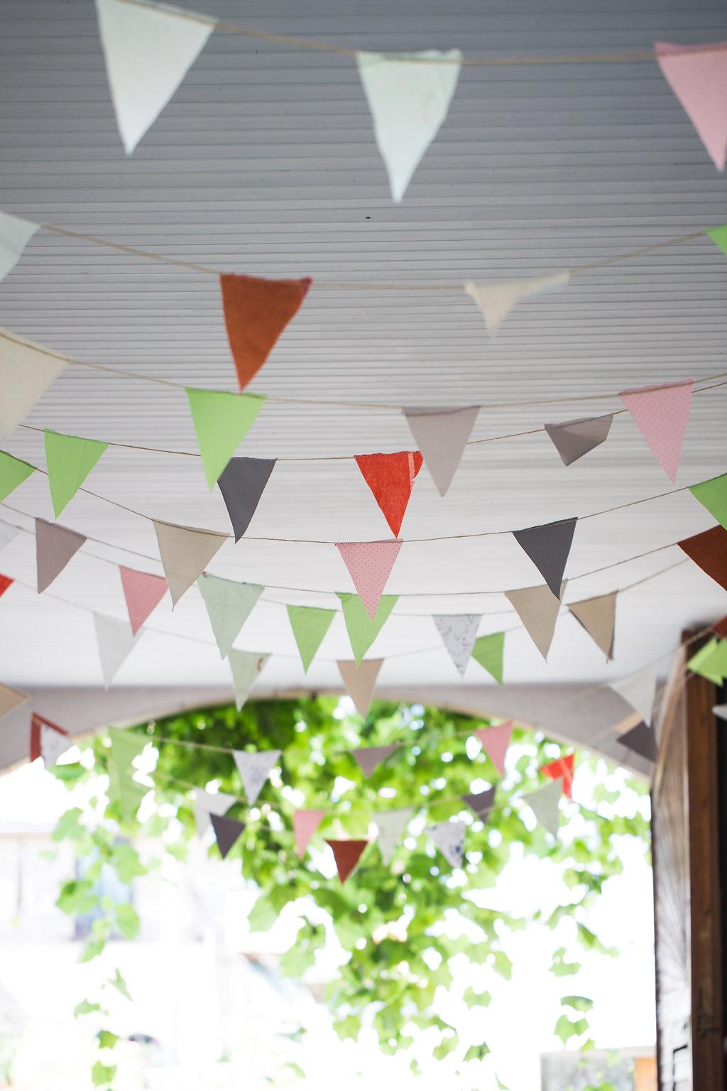 Wimpelkette hOchzeit bunt, bunte Wimpelkette DIY Hochzeit
