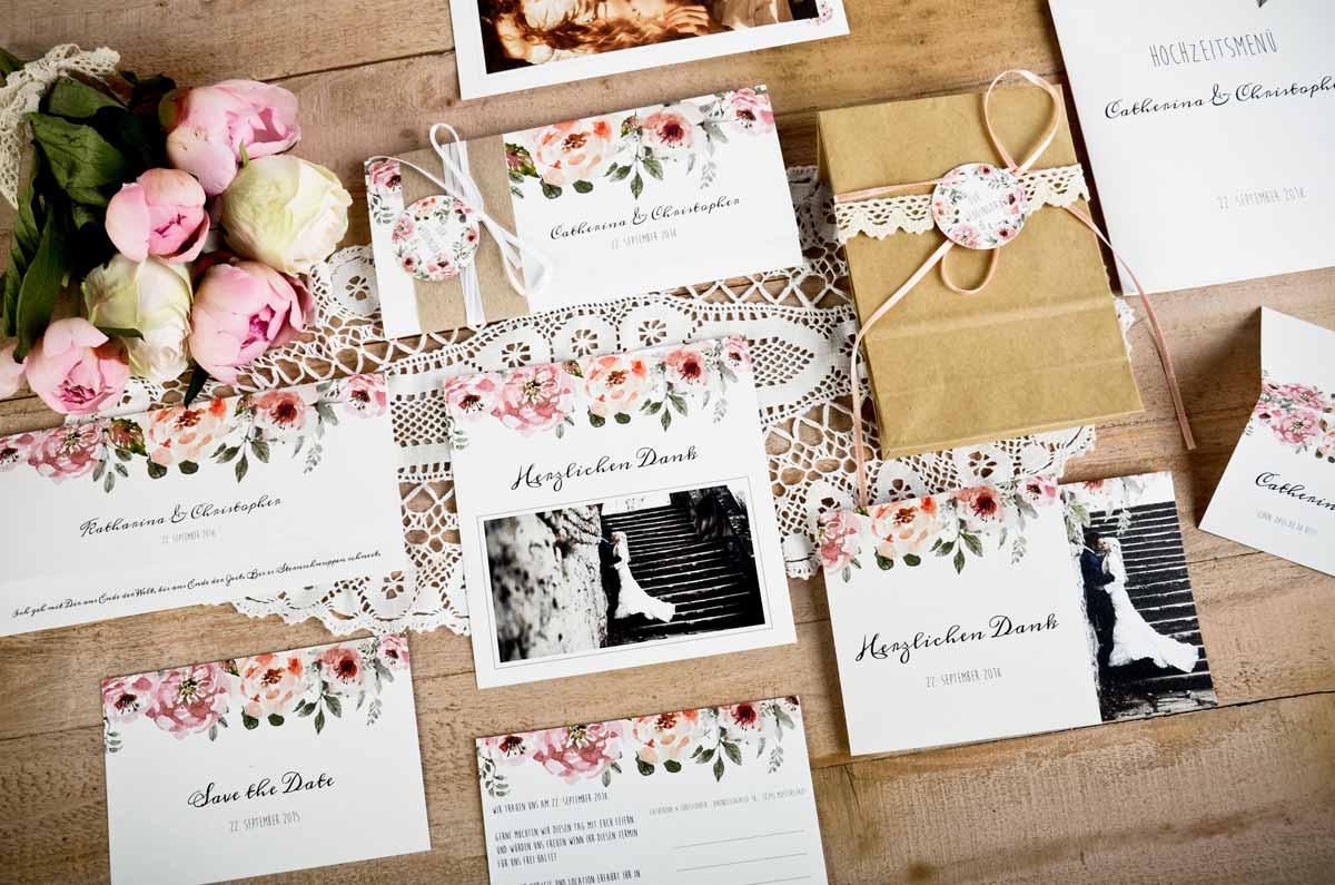 Individuelle Hochzeitskarten Und Gutschein Im Wert Von 250 Gewinnen