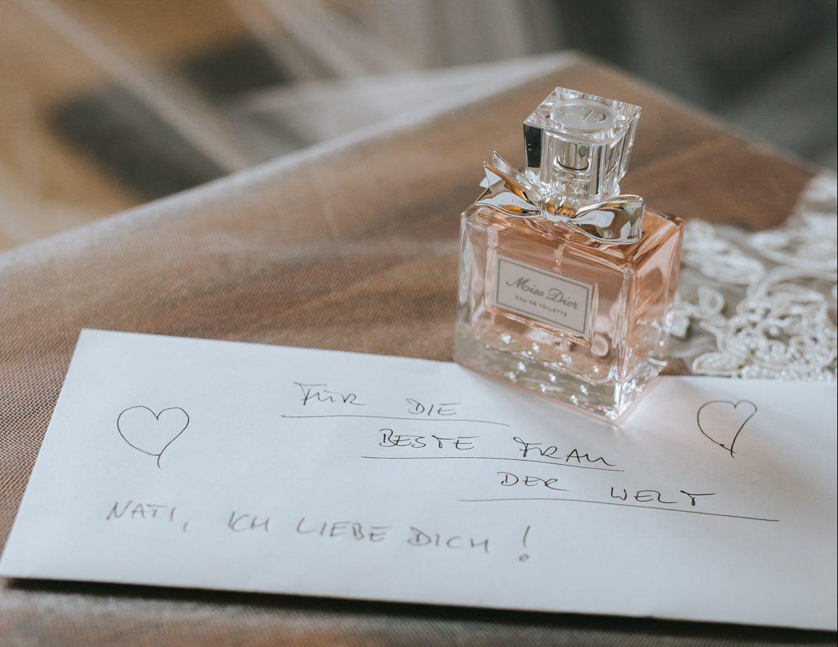 Hochzeitsparfum, Parfum für Hochzeit
