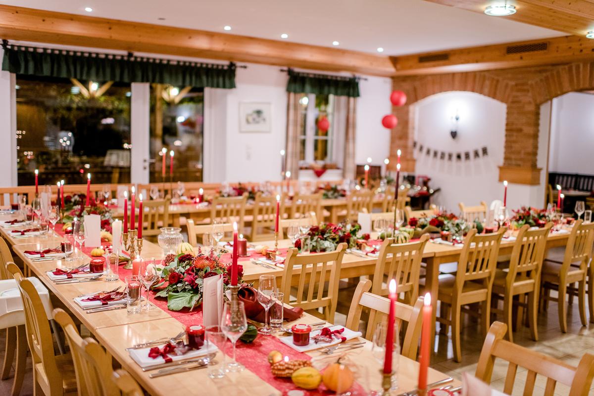 Herbsthochzeit, Tischdeko Herbst, Tischdeko Hochzeit HErbst, Tischdeko Herbsthochzeit, Hochzeitsdeko Herbst, Hochzeitsdeko rot