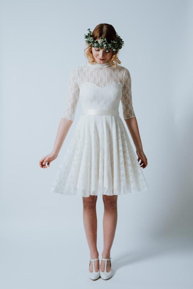 Brautkleid kurz Standesamt, Brautkleid unter 500€
