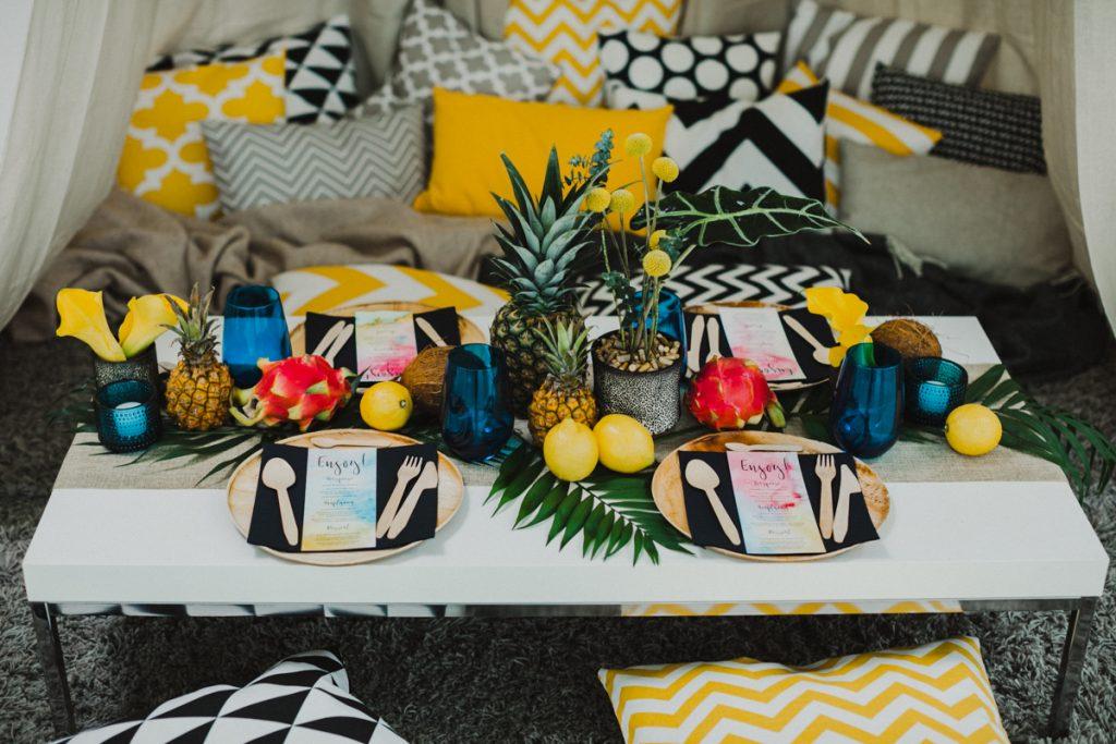 Inspirationen für eine Tropical Bohemian Wedding
