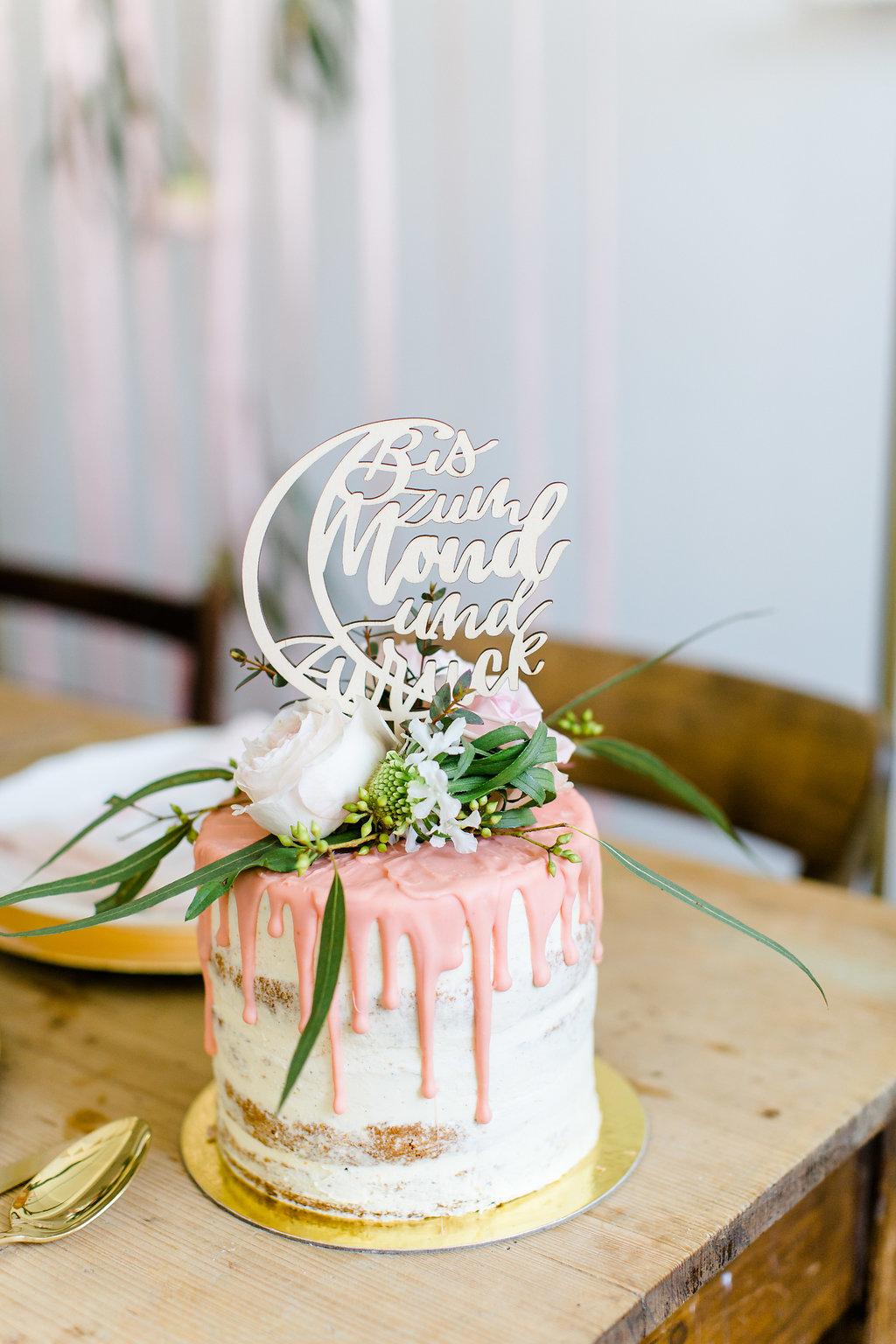 Cake Topper  Bis zum Mond und zurück, Cake Topper Hochzeit, Tortentopper Hochzeit, Cake Topper Taufe