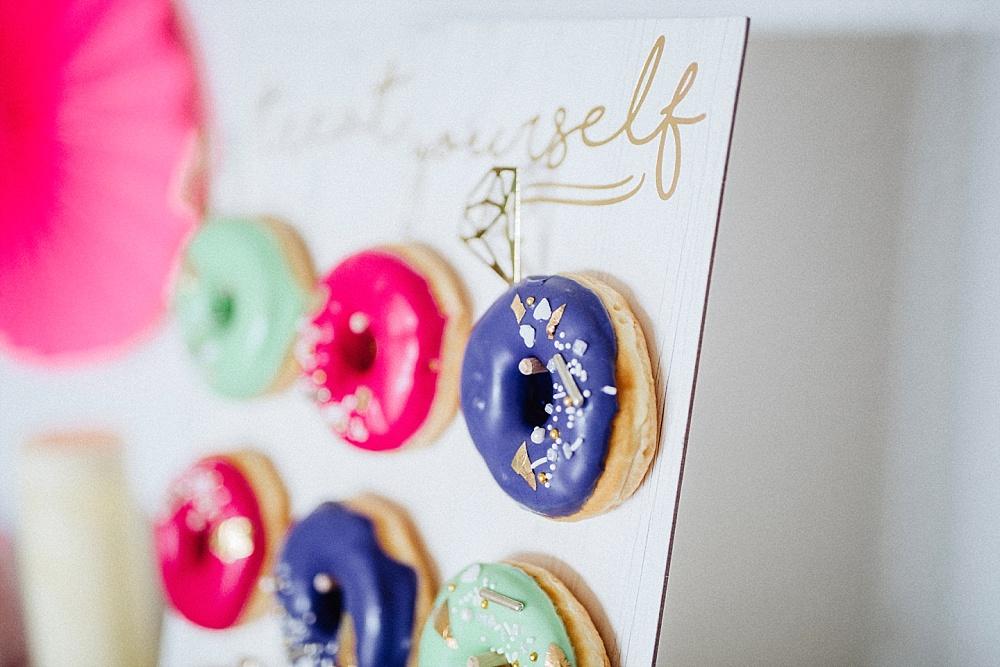 Donut Wall für Brautparty, Bridal Shower und JGA