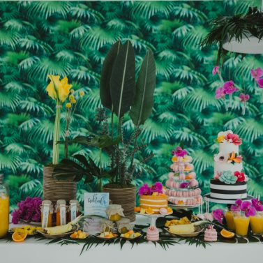 Tropical Sweet Table