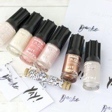 Toller Nagellack für die Hochzeit mit edding LAQUE & DIY Nail Bar