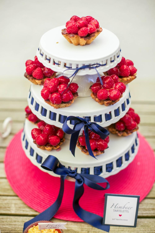 Sweet Table Blauer Sommer Von Suess Salzig Hochzeitsblog The