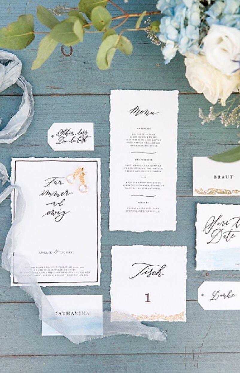Hochzeitskarten selber drucken – 5 kostengünstige Ideen mit Kalligrafie