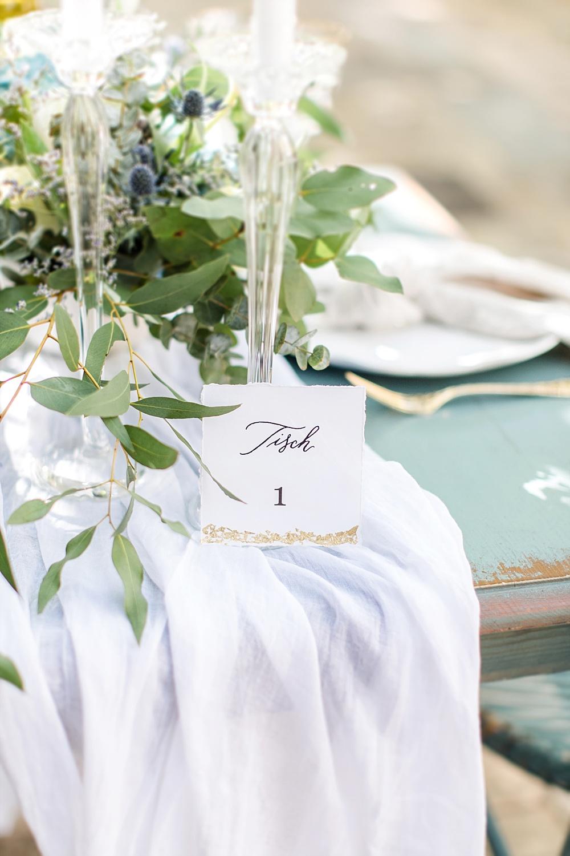 Tischnummer Hochzeit selber machen, Tischnummer Download