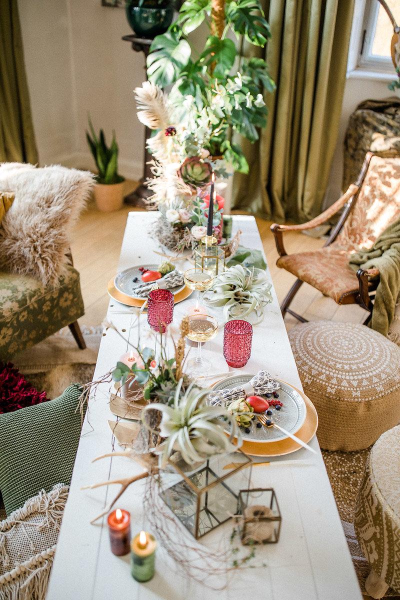 boho hochzeit mit pampasgras hochzeitsblog the little wedding corner. Black Bedroom Furniture Sets. Home Design Ideas