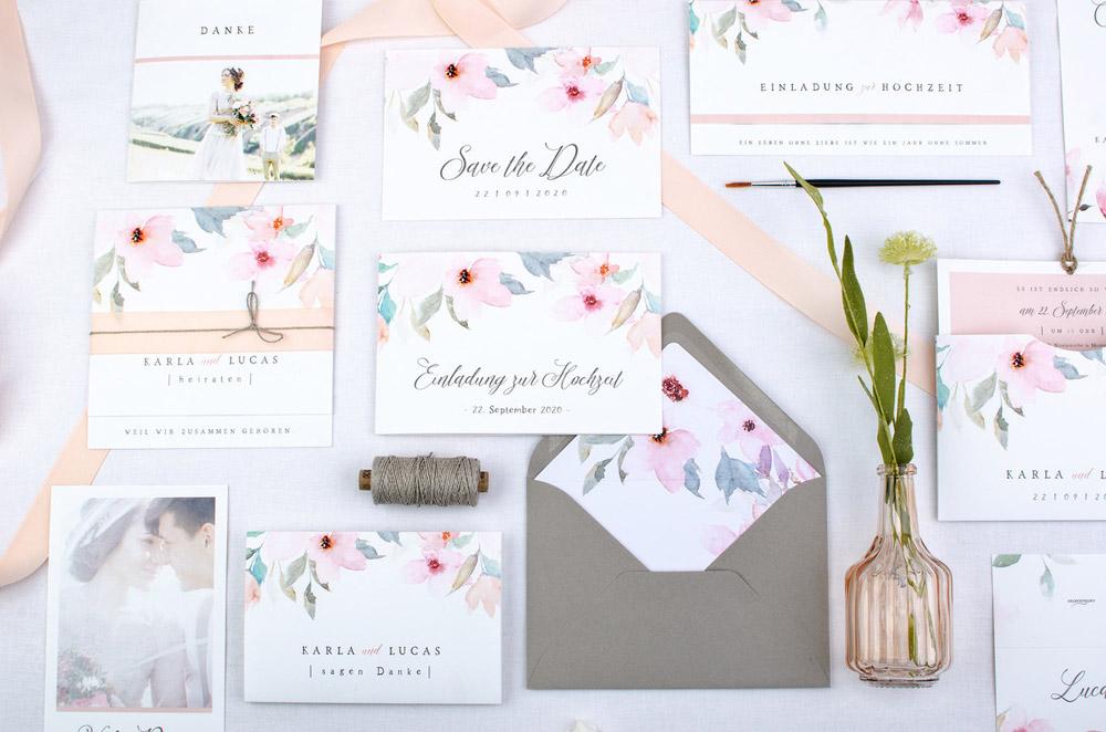 Die TLWC Hochzeitskarten Kollektion von Carinokarten
