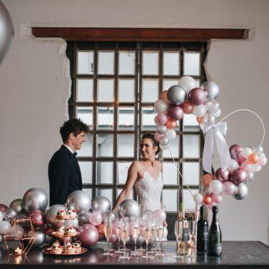 Ideen für eine urbane Hochzeit in der Alten Tuchfabrik