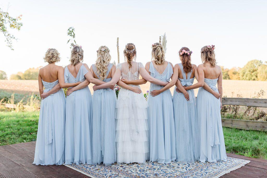 Bridal Party à la Marie Antoinette