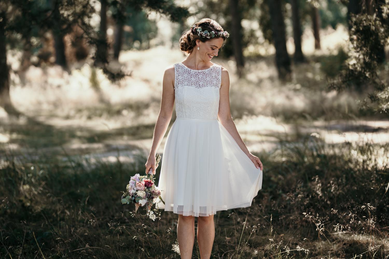 Brautkleid Standesamt, kurzes Brautkleid, Brautkleid kurz Standesamt