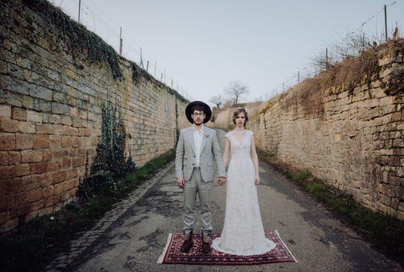 Bohemian Vineyard – Inspiration für eine Hochzeit in den Weinbergen
