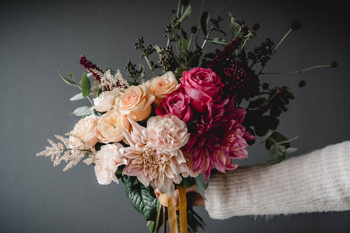 Brautstrauß Herbst, brautstrauß ideen, brautstrauß beispiele