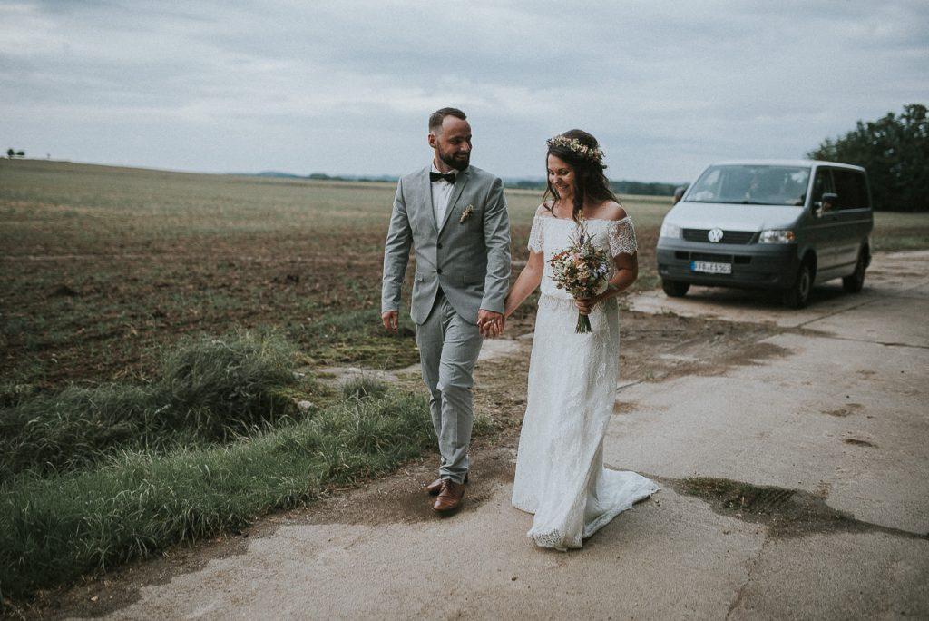 Eine Vintage Hochzeit als Spätsommerparty