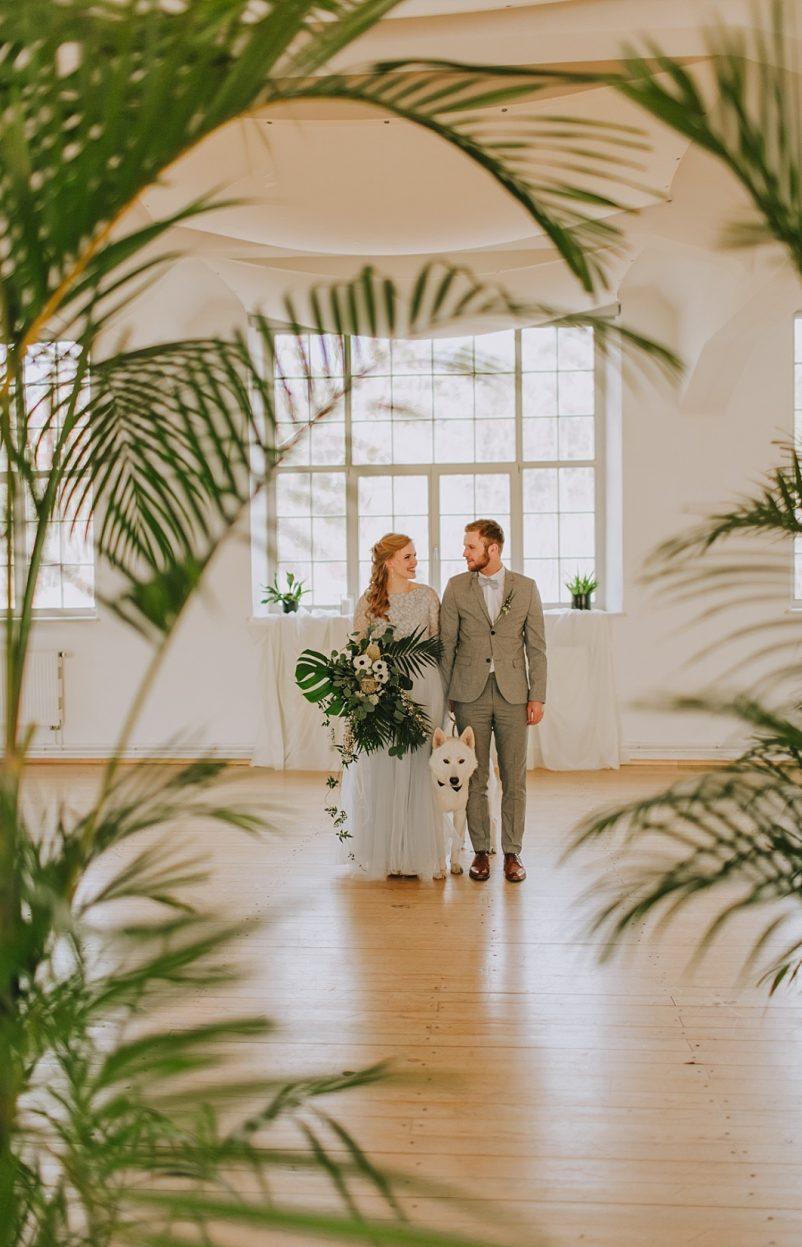 Ideen für eine Industrial Greenery Hochzeit