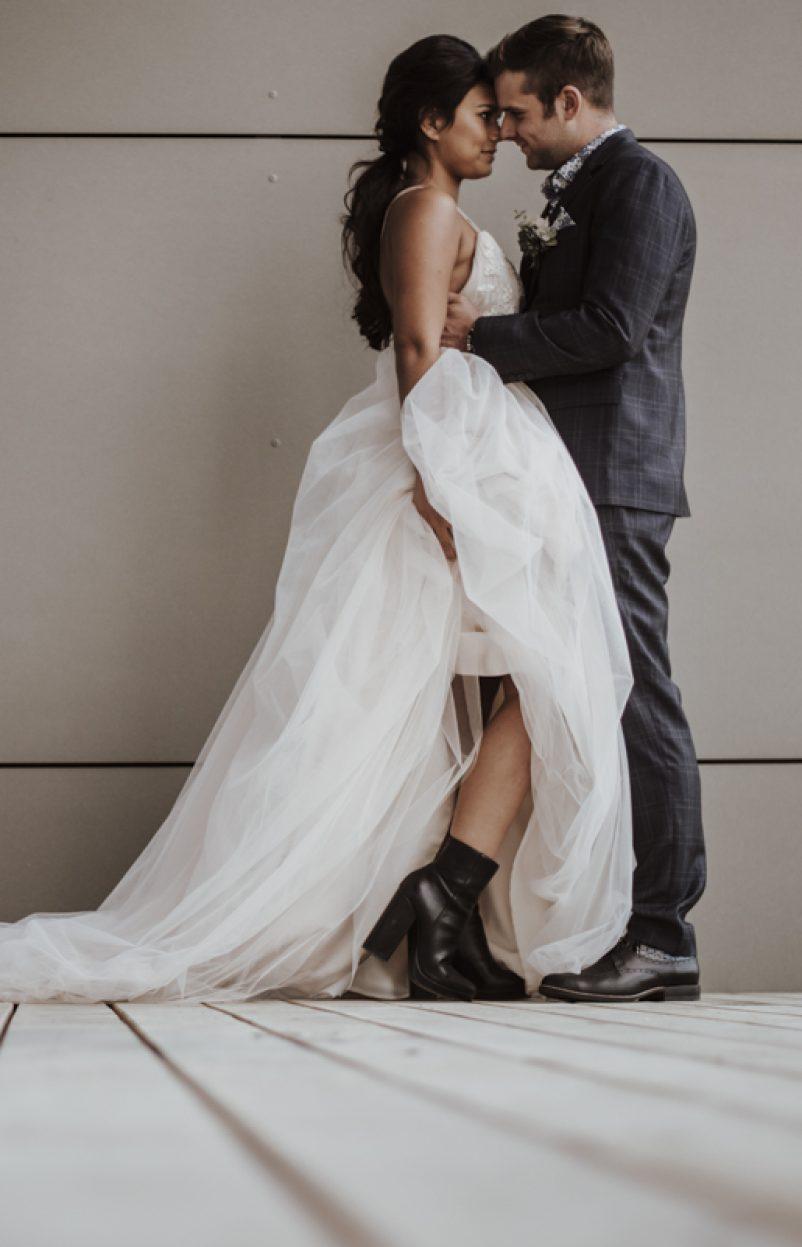 Edgy Wedding: Cool und rockig heiraten