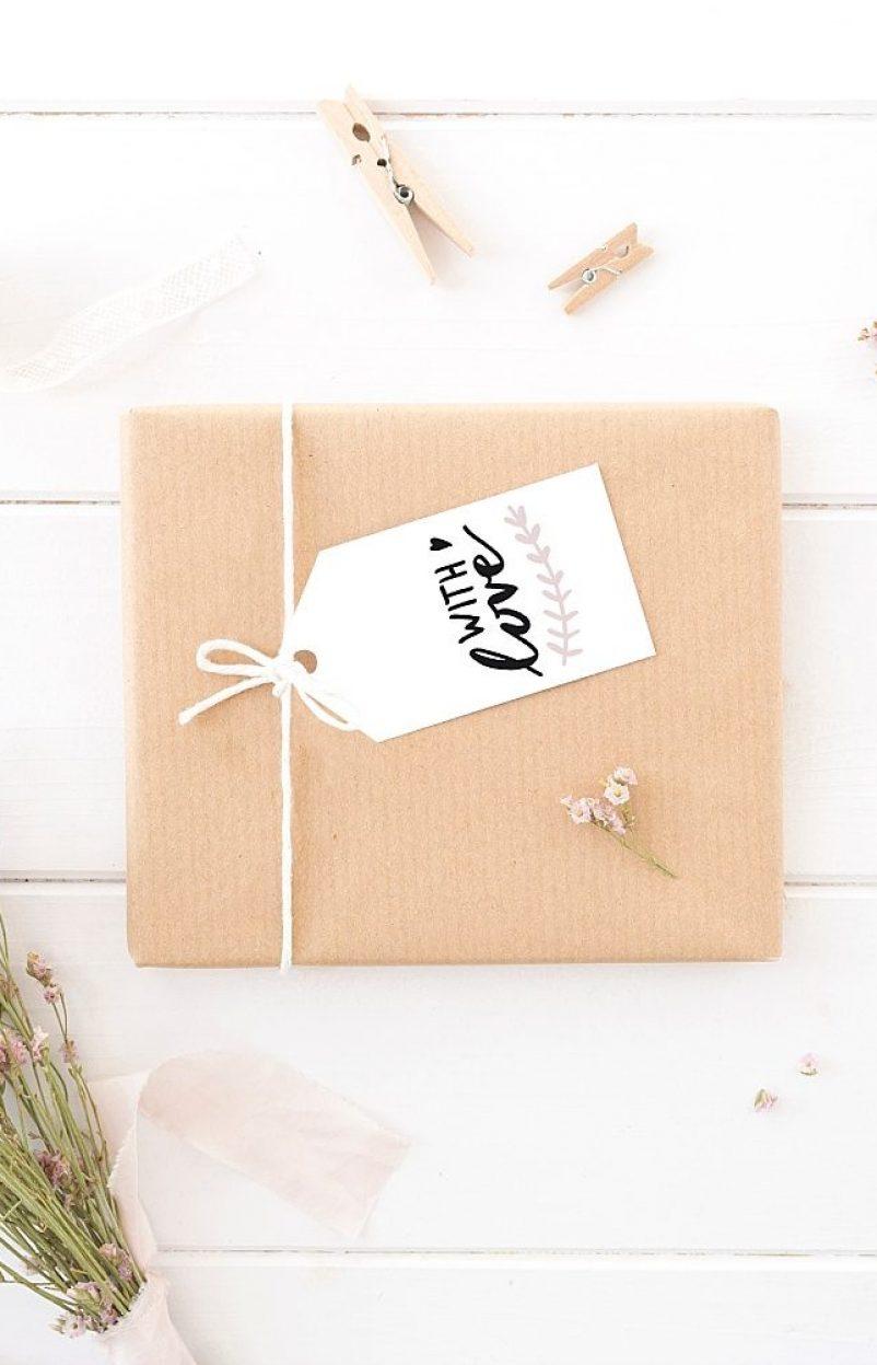 Love is in the Air: Geschenkanhänger Freebie zum Download für alle Anlässe