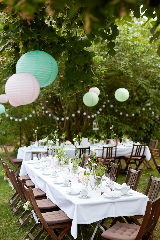 Family Style Dinner auf einer Hochzeit, neuer Hochzeitstrend Family Style Dinner