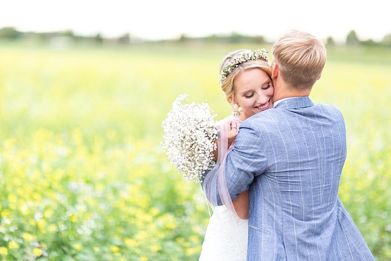 Eine natürliche Vintage Hochzeit im Landgut