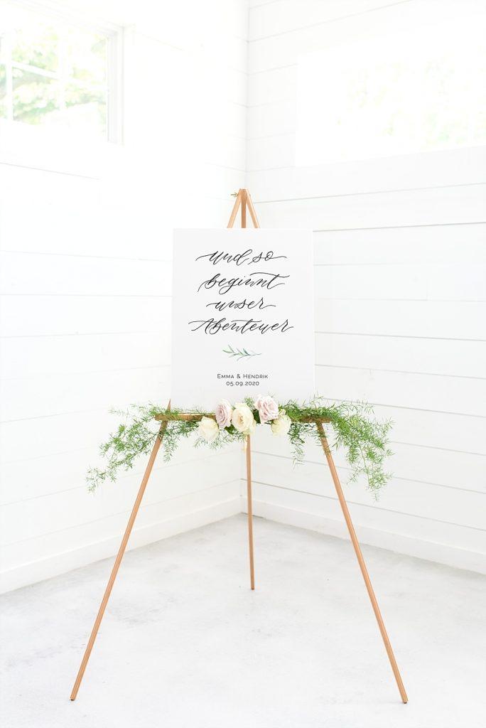Die TLWC Hochzeitsposter und Hochzeitsschilder Kollektion 2019 mit Jeannette Mokosch