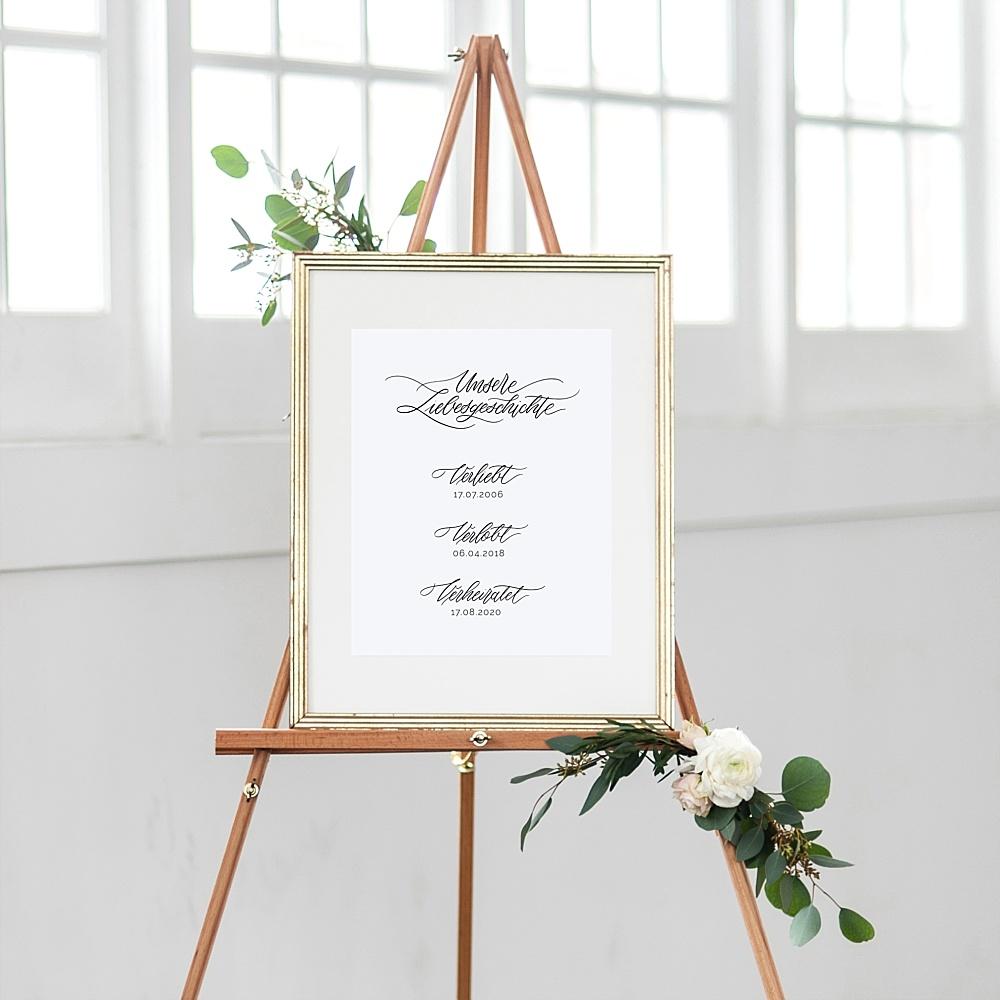 Hochzeitsgeschenk verliebt verlobt verheiratet