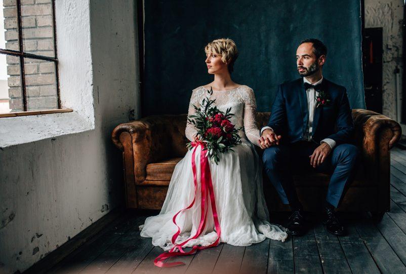 Urban Heiraten: Moderne Ideen für eine romantische Industrial Wedding