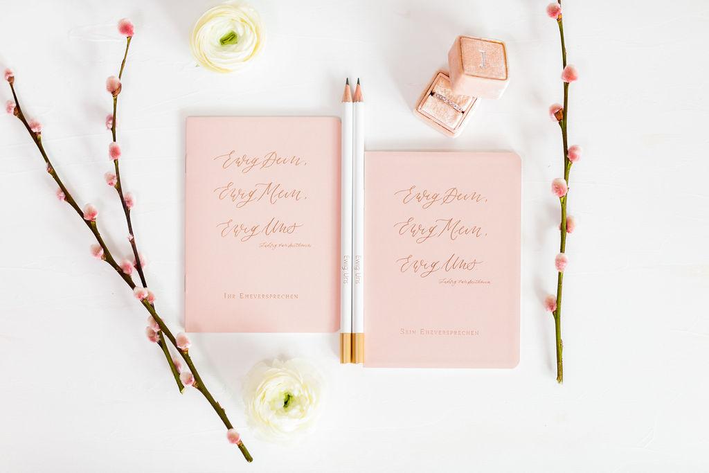 Eheversprechen Büchlein, Eheversprechen Heft, Eheversprechen Buch