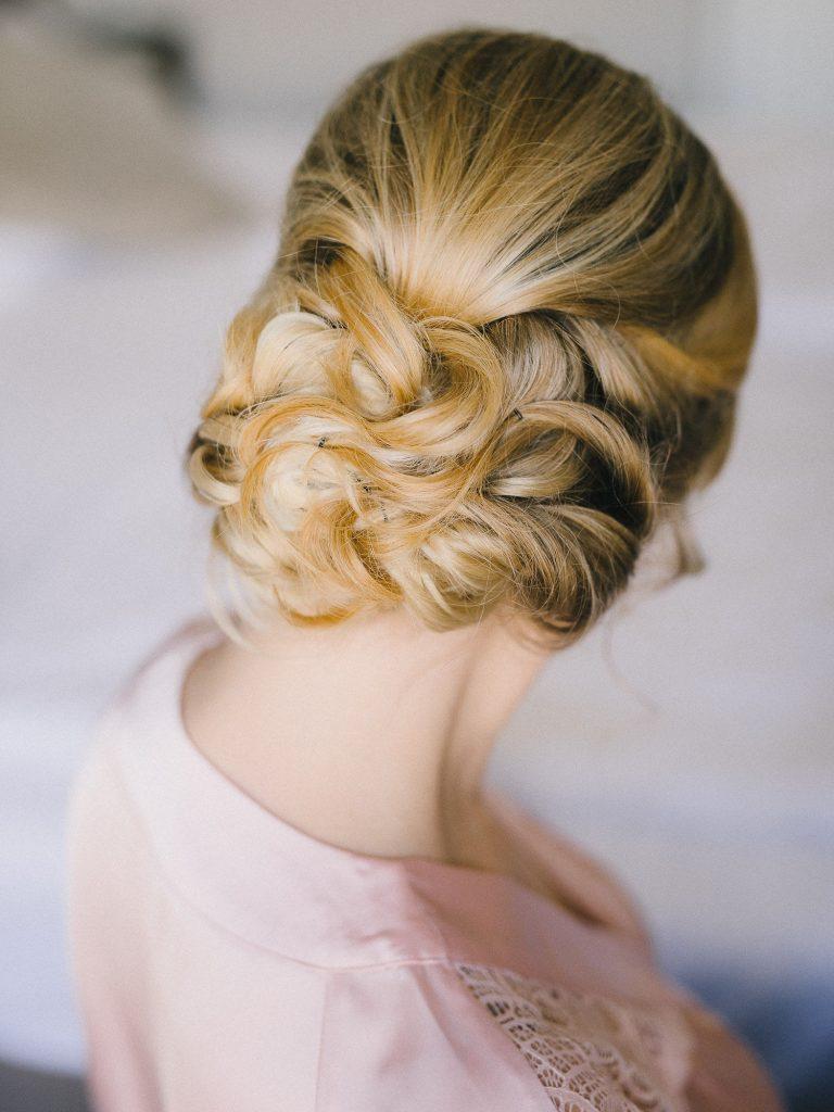 Brautfrisur hochgesteckt, Frisur Braut Haare hochgesteckt
