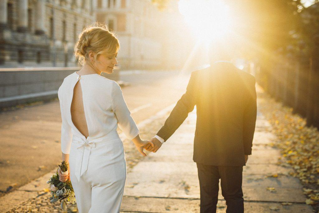 Braut Jumpsuit statt Brautkleid, Hosenanzug statt Brautkleid