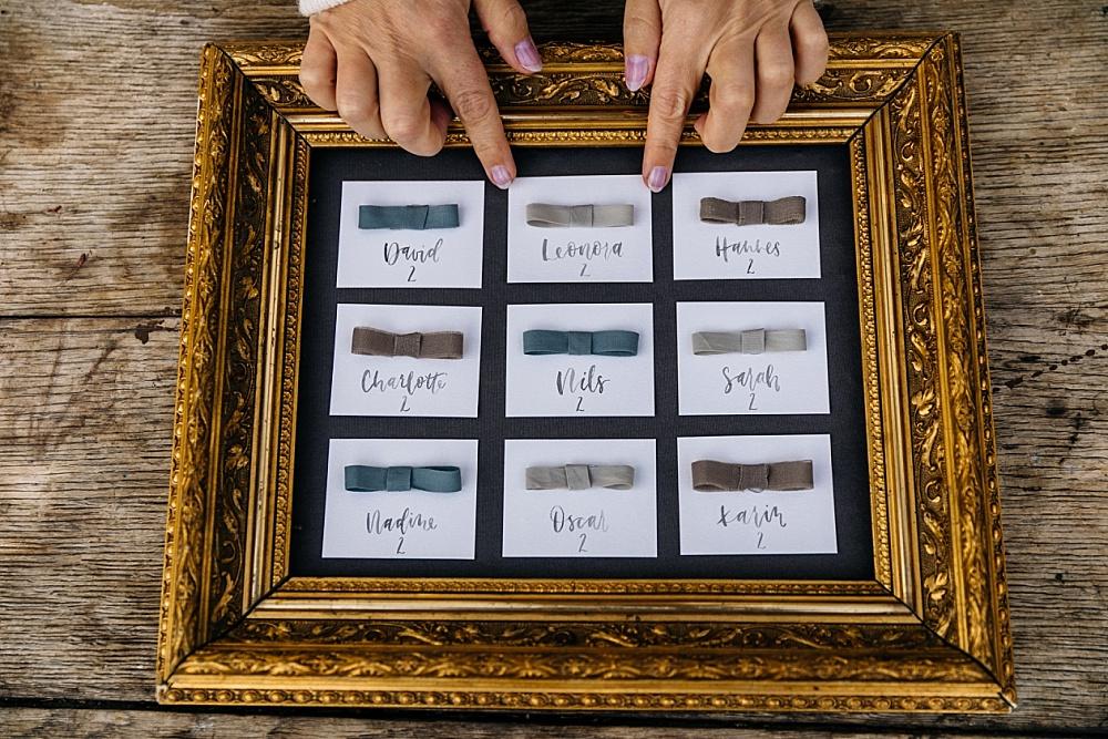 Hochzeit Sitzplan selber machen, Tischplan und Sitzordnung selber basteln für Hochzeit