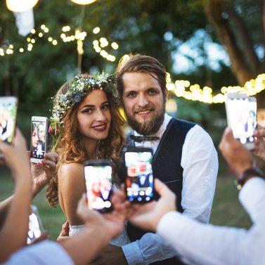 Hochzeitsfotos sicher teilen mit der Online-Galerie imiji