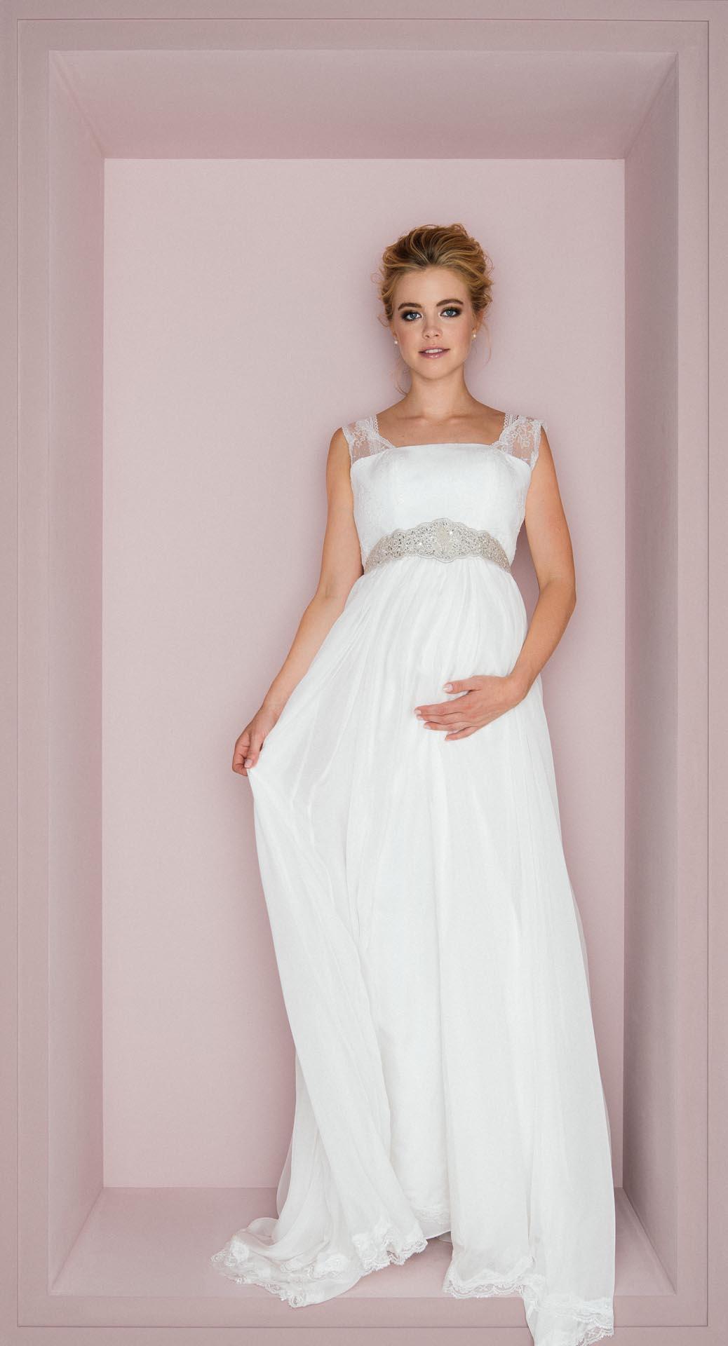 Brautkleid für schwangere, Brautmode für Schwangerschaft, schanger brautkleid, Brautkleid schwanger