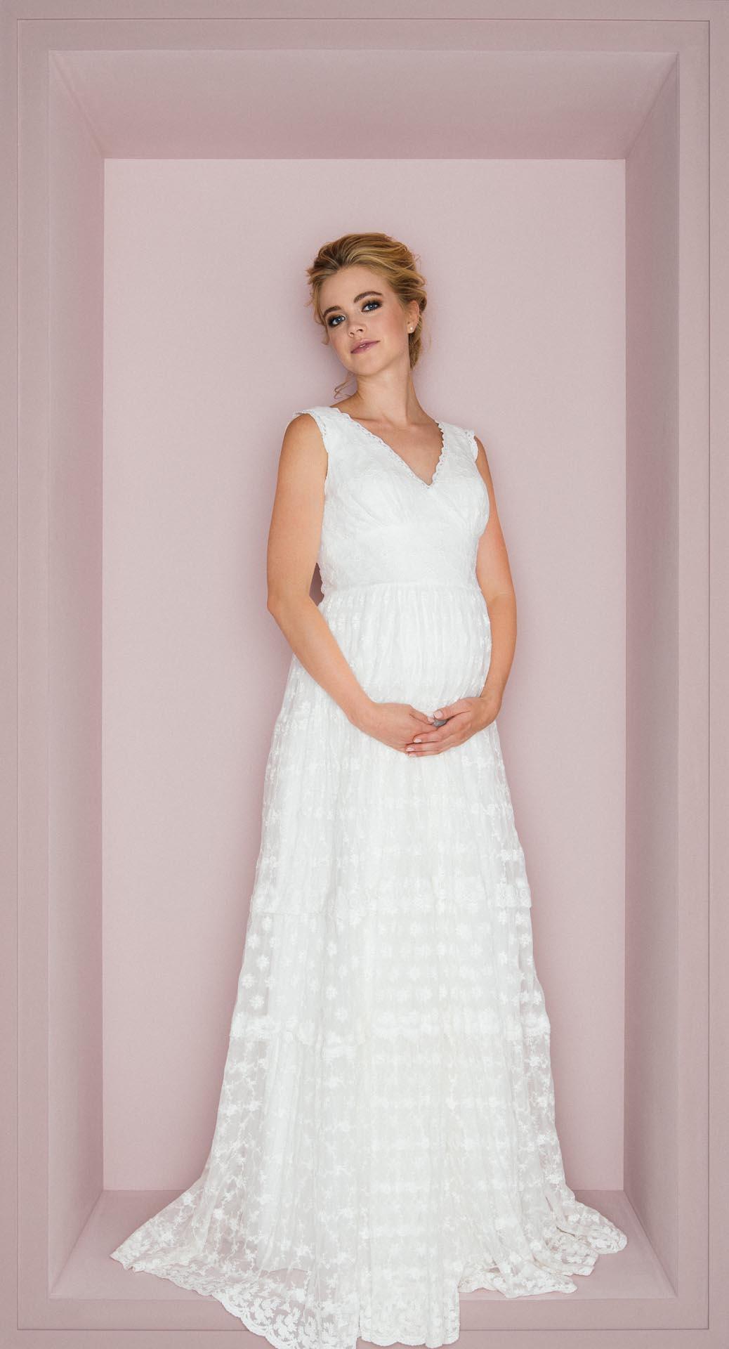 schwanger heiraten: schöne brautkleider für die