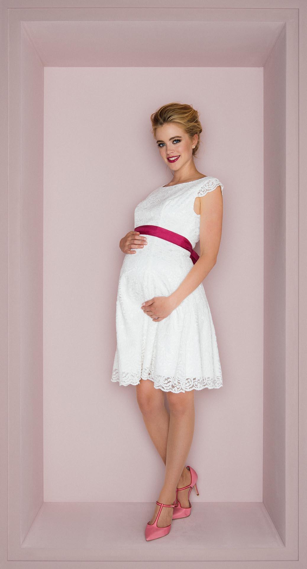 Schwanger heiraten: Schöne Brautkleider für die Schwangerschaft