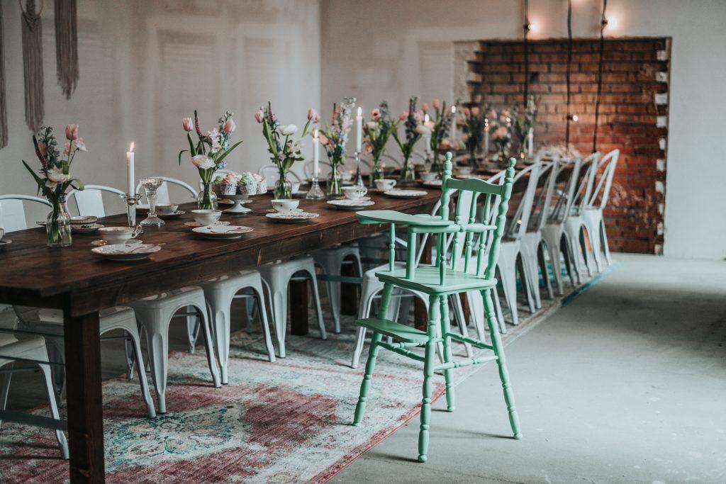 Kinderstuhl Vintage Hochzeit mieten