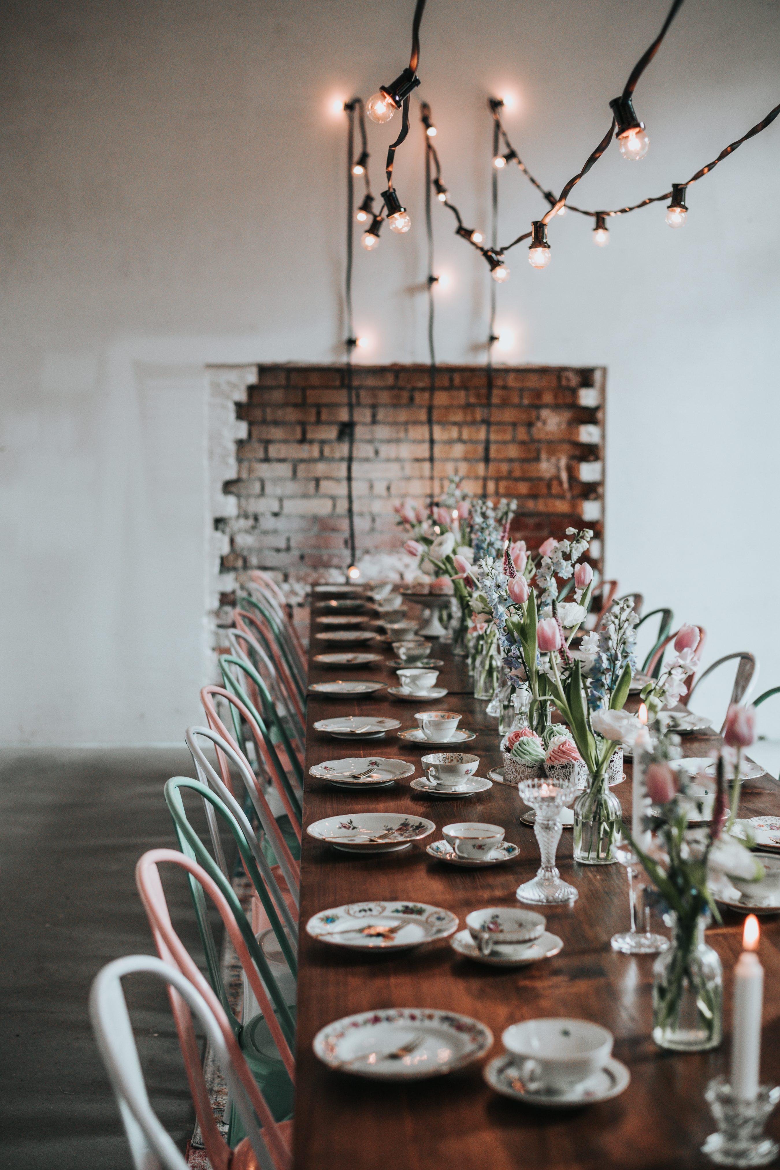 Tischdekoration Hochzeit mieten, Tischdekoration leihen für Hochzeit Berlin Brandenburg