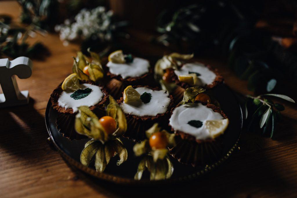 Cupcakes Hochzeit rustikal