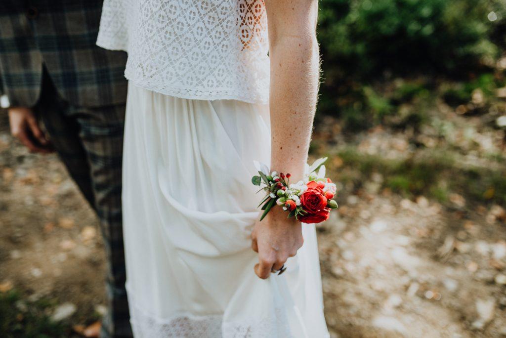 Armband Blüten Braut