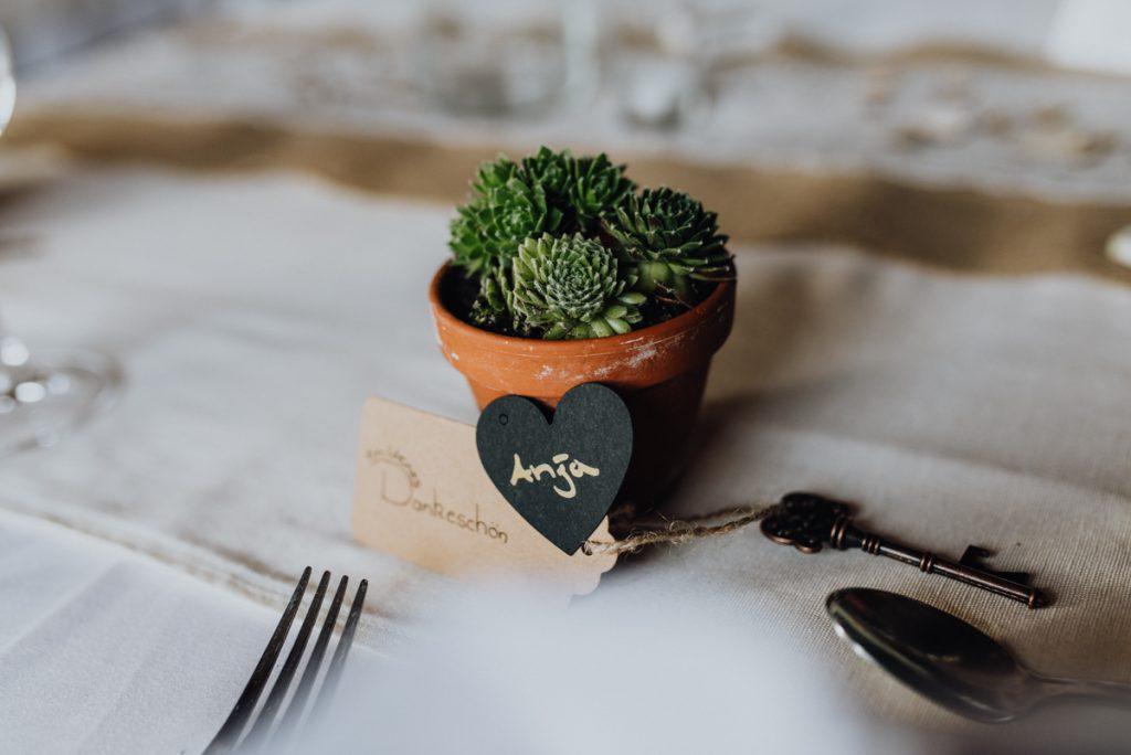 Gastgeschenk Hochzeit Hauswurz