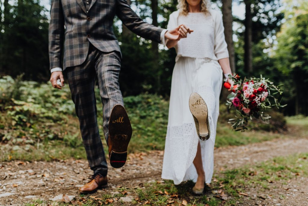 Schuhe Brautpaar