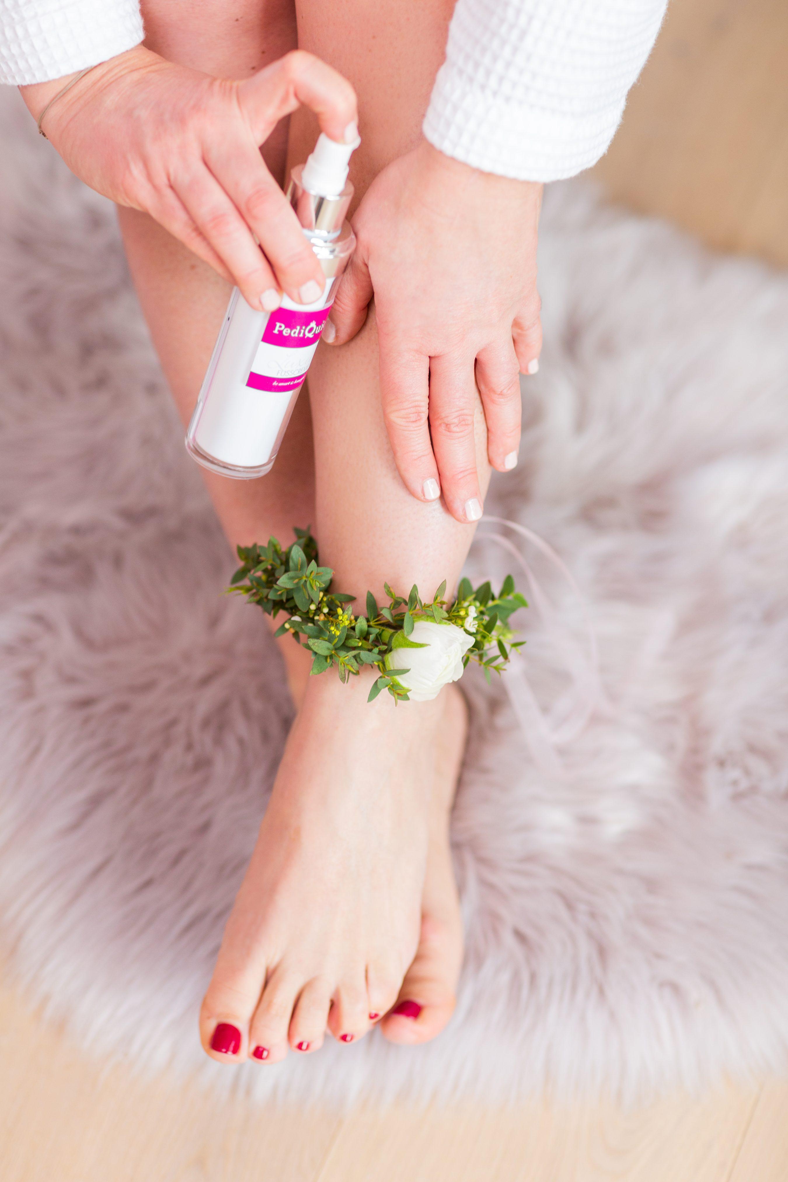 Fußpflege für Hochzeit